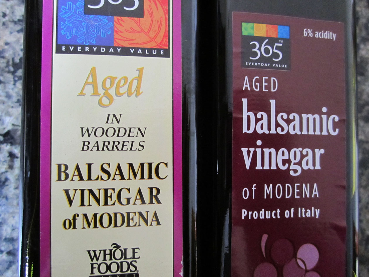 whole foods balsamic vinegar